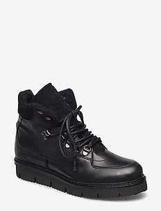 Warm Hiking Boot - BLACK