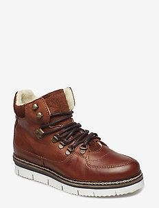 Warm Hiking Boot - COGNAC