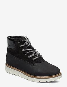 BIAANLI Winter Wedge Boot - BLACK 2