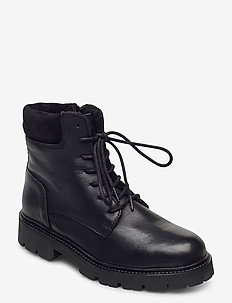 BIADIYA Laced Warm Boot - talon bas - black