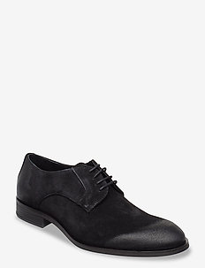 BIABYRON Leather Derby - snøresko - black 1