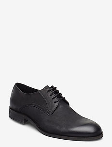 BIABYRON Leather Derby - snøresko - black