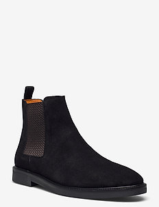 BIACHAIN Leather Chelsea - chelsea boots - black 1