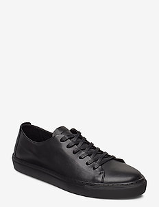 BIAAJAY Leather Sneaker - lave sneakers - black