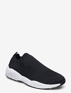 BIACAREW Knit Sneaker - baskets basses - black 4