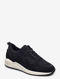 BIADAKOTA Suede Sneaker - låga sneakers - black 1