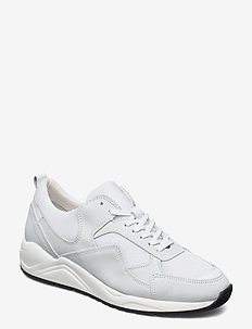 BIADAKOTA Suede Sneaker - låga sneakers - white 1