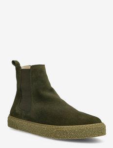 BIACHAD Winter Chelsea Boot - neue mode - dark green 1