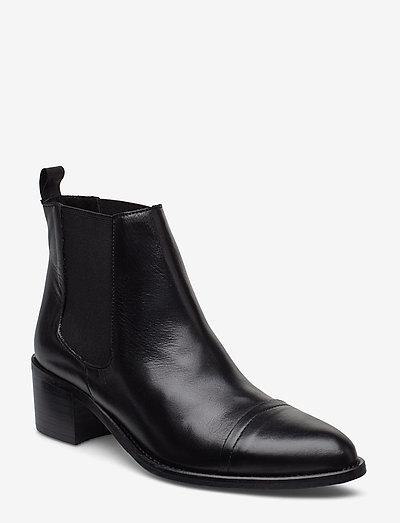 BIACAROL Dress Chelsea - heeled ankle boots - black