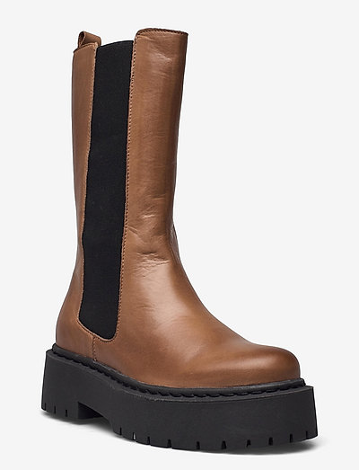 BIADEB Long Boot - chelsea boots - beige 6