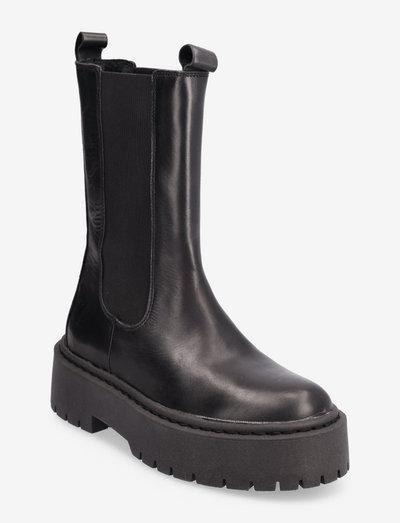 BIADEB Long Boot - chelsea boots - black