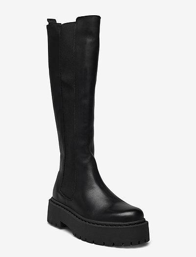 BIADEB Extra Long Boot - long boots - black