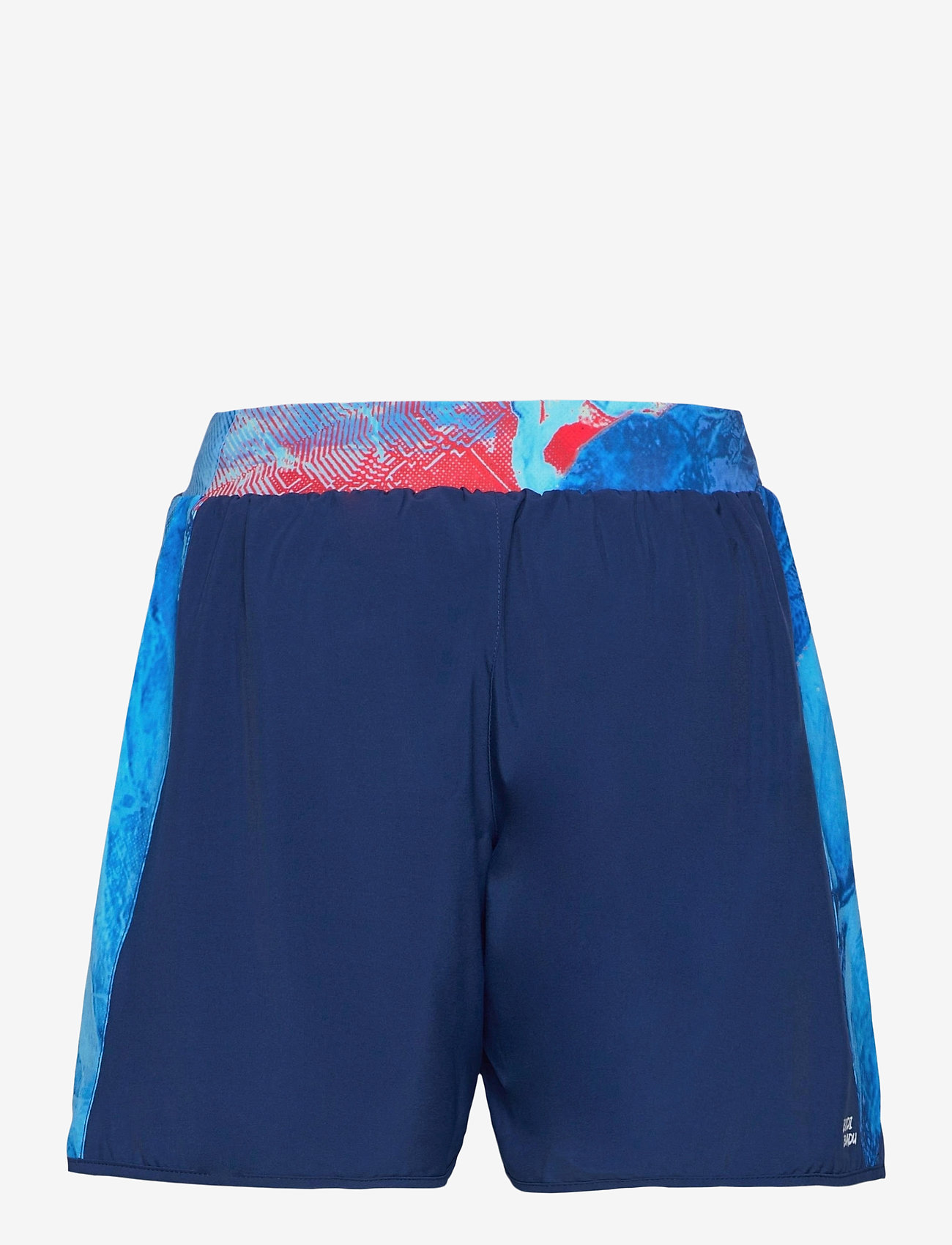 BIDI BADU - Adnan 7in Jeans Tech Shorts - training korte broek - dark blue, aqua - 1