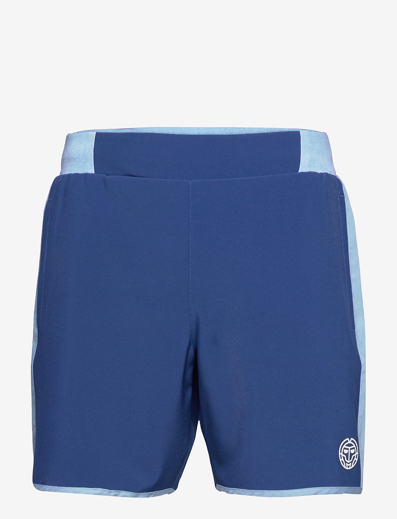 BIDI BADU - Adnan 7in Jeans Tech Shorts - training korte broek - jeans, dark blue - 0