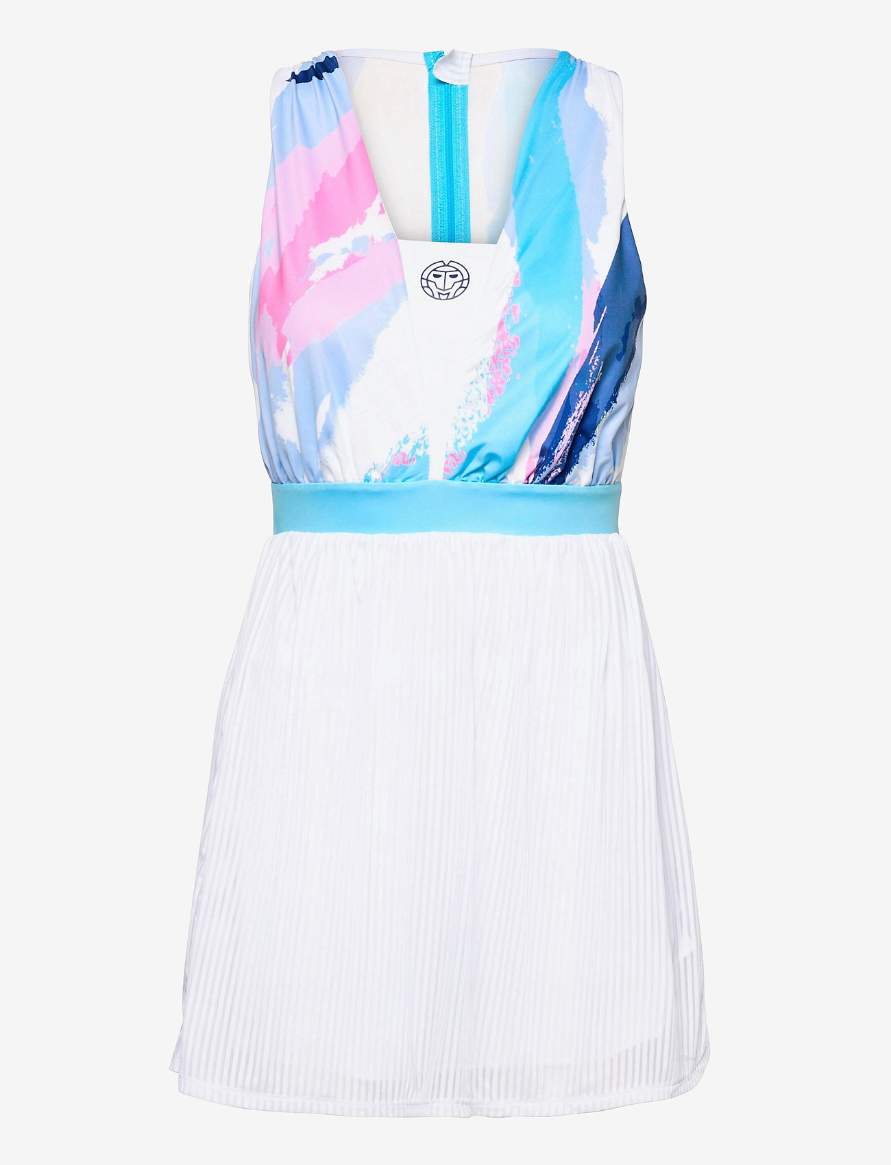 BIDI BADU - Ankea Tech Dress (2 In 1) - zomerjurken - white, aqua - 0