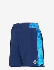 BIDI BADU - Adnan 7in Jeans Tech Shorts - training korte broek - dark blue, aqua - 2