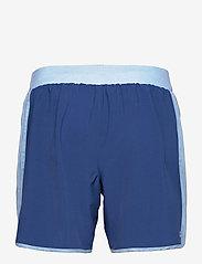 BIDI BADU - Adnan 7in Jeans Tech Shorts - training korte broek - jeans, dark blue - 1