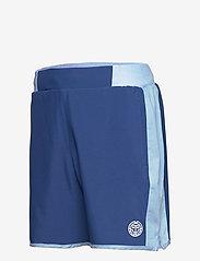 BIDI BADU - Adnan 7in Jeans Tech Shorts - training korte broek - jeans, dark blue - 2