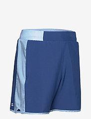 BIDI BADU - Adnan 7in Jeans Tech Shorts - training korte broek - jeans, dark blue - 3