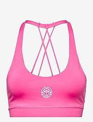 BIDI BADU - Letty Tech Strappy Bra - sport bras: low - pink - 0