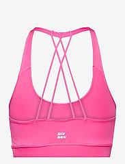 BIDI BADU - Letty Tech Strappy Bra - sport bras: low - pink - 1