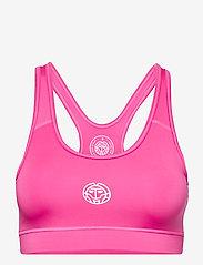 BIDI BADU - Jude Tech Bra - sport bras: medium - pink - 0