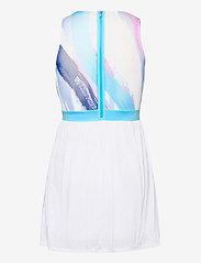 BIDI BADU - Ankea Tech Dress (2 In 1) - zomerjurken - white, aqua - 1