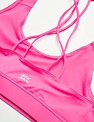 BIDI BADU - Letty Tech Strappy Bra - sport bras: low - pink - 2