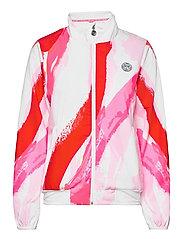 Gene Tech Jacket - WHITE, RED