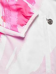 BIDI BADU - Gene Tech Jacket - sports jackets - white, red - 3