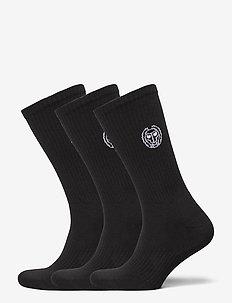 Matayo Crew Tech Socks 3 Pack - kousen - black