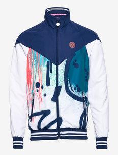 Hayo Tech Jacket - träningsjackor - white, dark blue