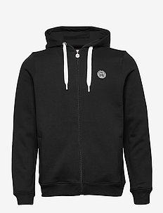 Keno Basic Jacket - basic sweatshirts - black