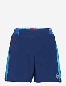 Adnan 7in Jeans Tech Shorts - treenishortsit - dark blue, aqua