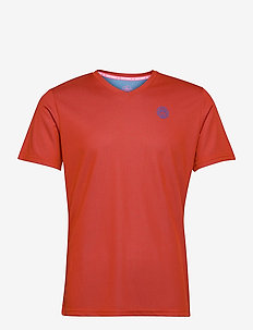 Ted Tech Tee - t-shirts - red, blue