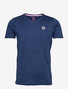 Ikem Tech Tee - t-shirts - dark blue