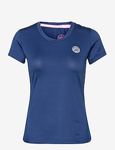 Eve Tech Roundneck Tee - t-shirts - dark blue