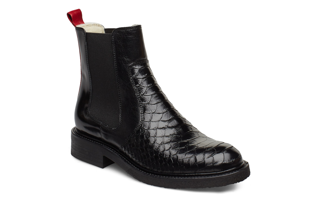 Billi Bi BOOTS - BL.POLO/RED/WHITE LINING 319