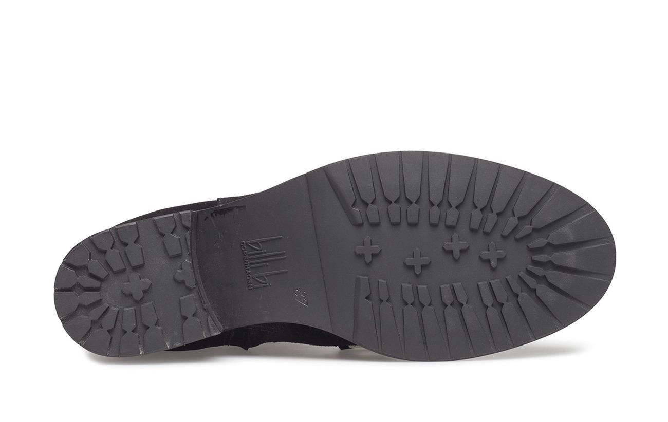 503 Black Boots Billi Outsole Bi Cuir Suede Partie Caoutchouc silver Supérieure Xx6qwH7gq