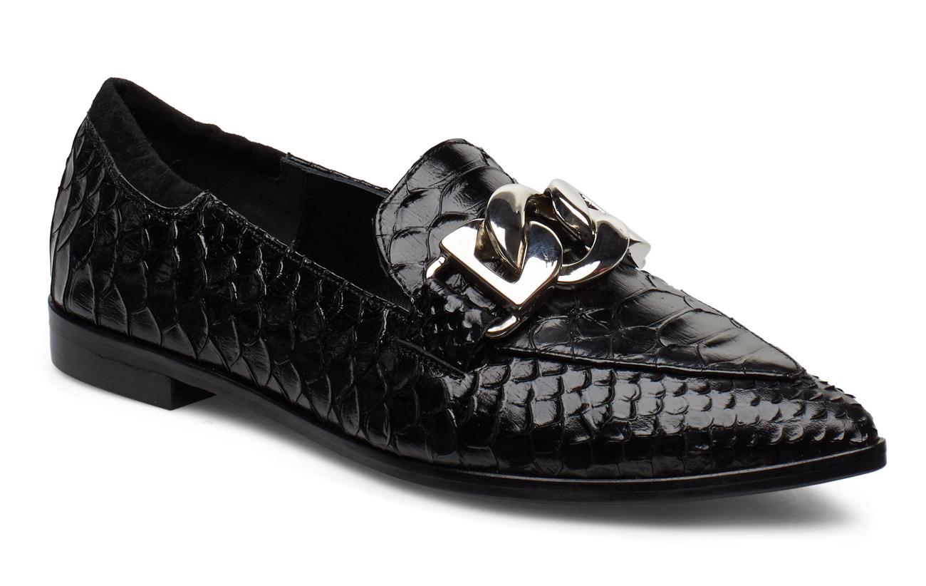 Billi Bi Shoes 3300 - BLACK POLO TEN./SILVER 303