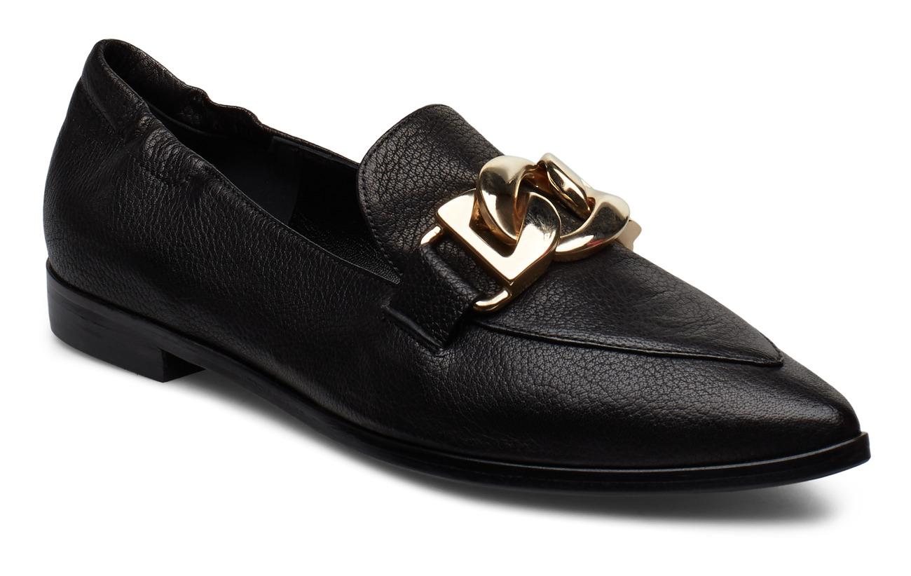 Billi Bi Shoes 3300 - BLACK BUFFALO/GOLD 80
