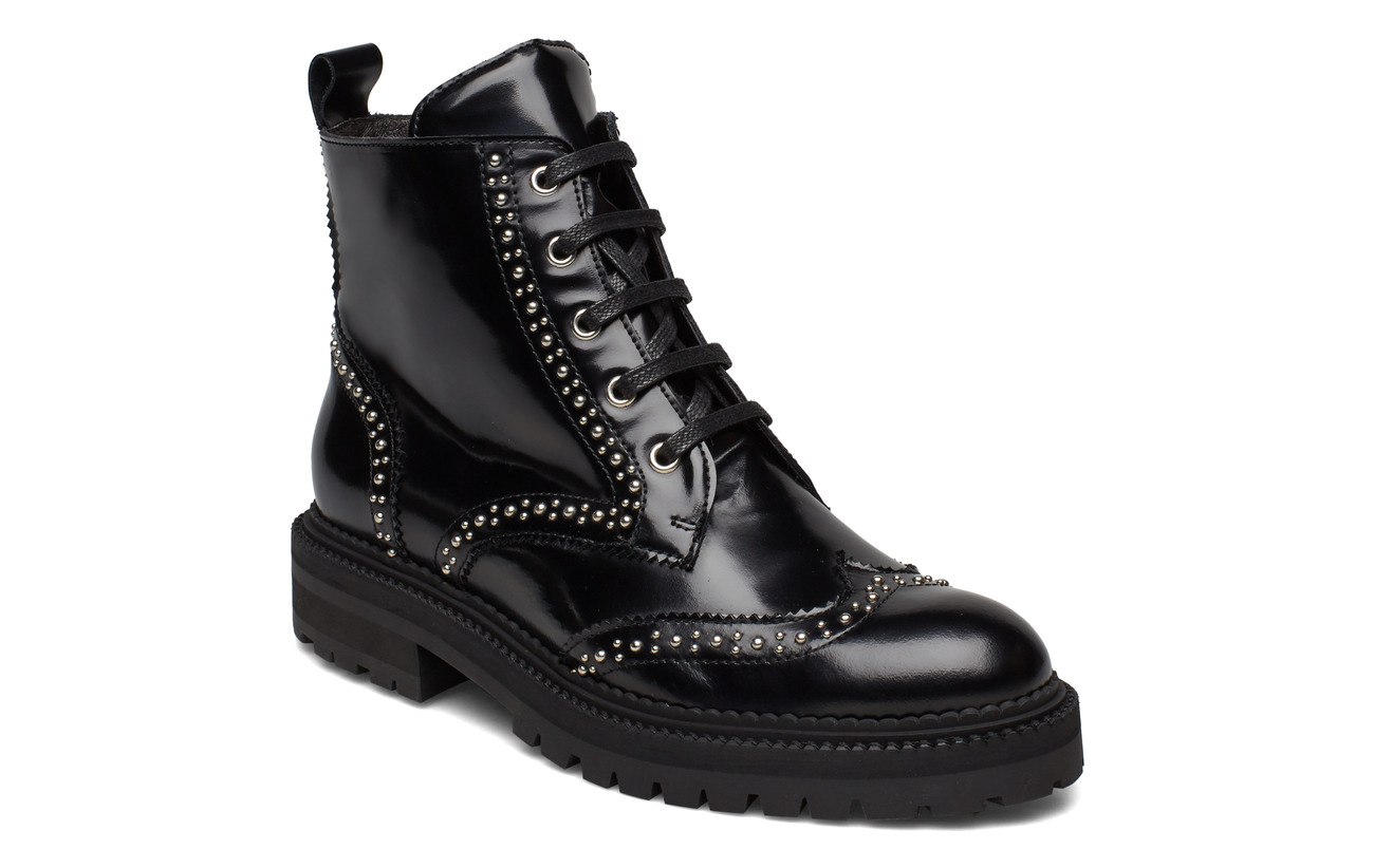 Billi Bi Boots 3551 - SOFT POLIDO BLACK/SILVER 903