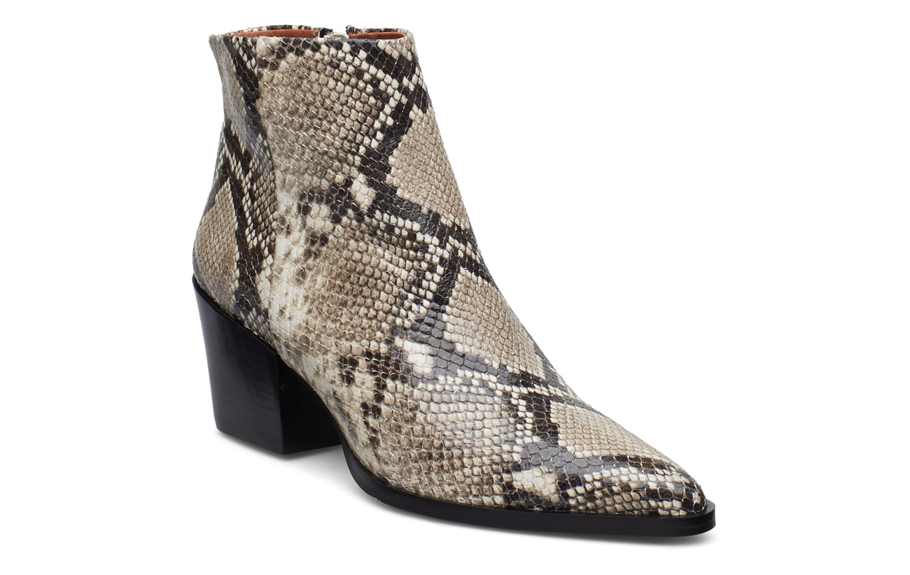 Billi Bi Booties 3710 - OFF WHITE SNAKE 33