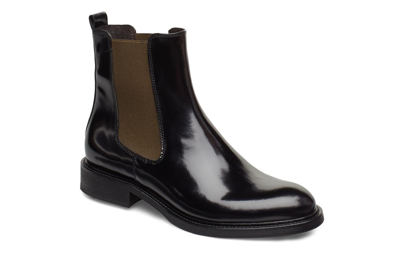Billi Bi Boots 37952 - BLACK POLIDO/ARMY ELAST 907