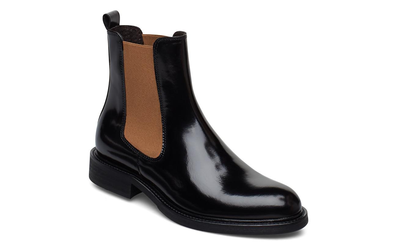 Billi Bi Boots 37952 - BLACK POLIDO/CAMEL ELAST 904