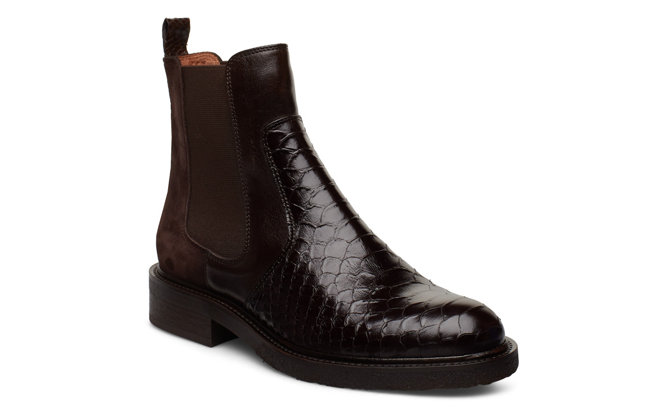 Billi Bi BOOTS - T.MORO 490 POLO/BROWN SNAKE 26