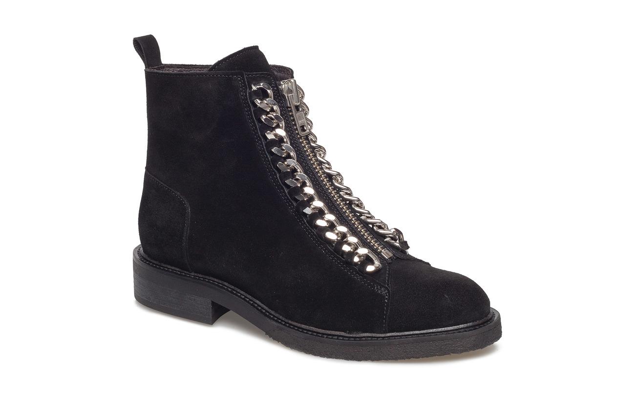 Billi Bi Boots 7428 - BLACK SUE./SILVER 503