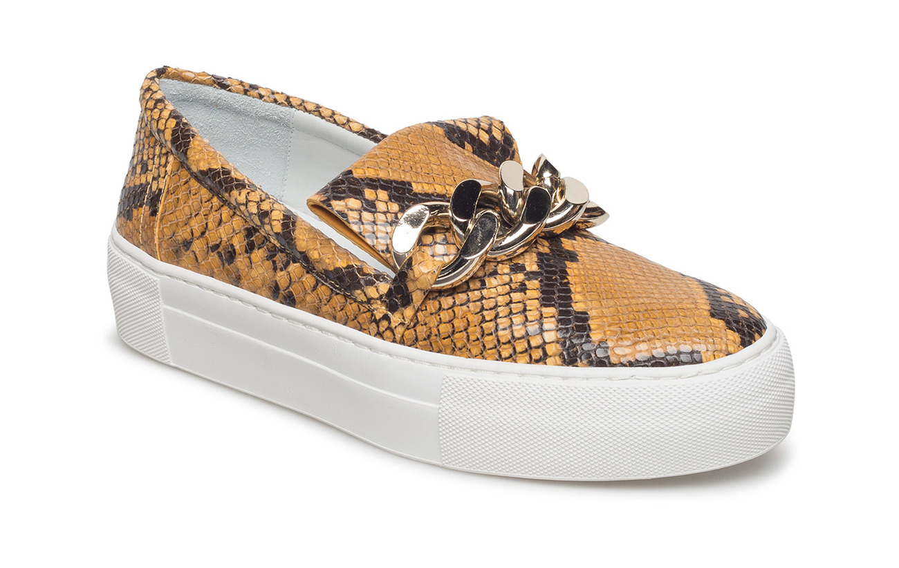 Billi Bi SHOES - CURRY SNAKE/GOLD 35