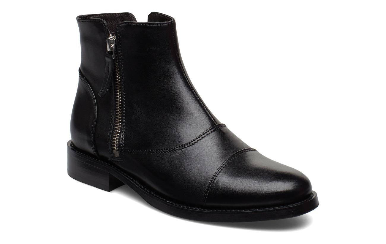 Billi Bi BOOTS - BLACK CALF/SILVER 603