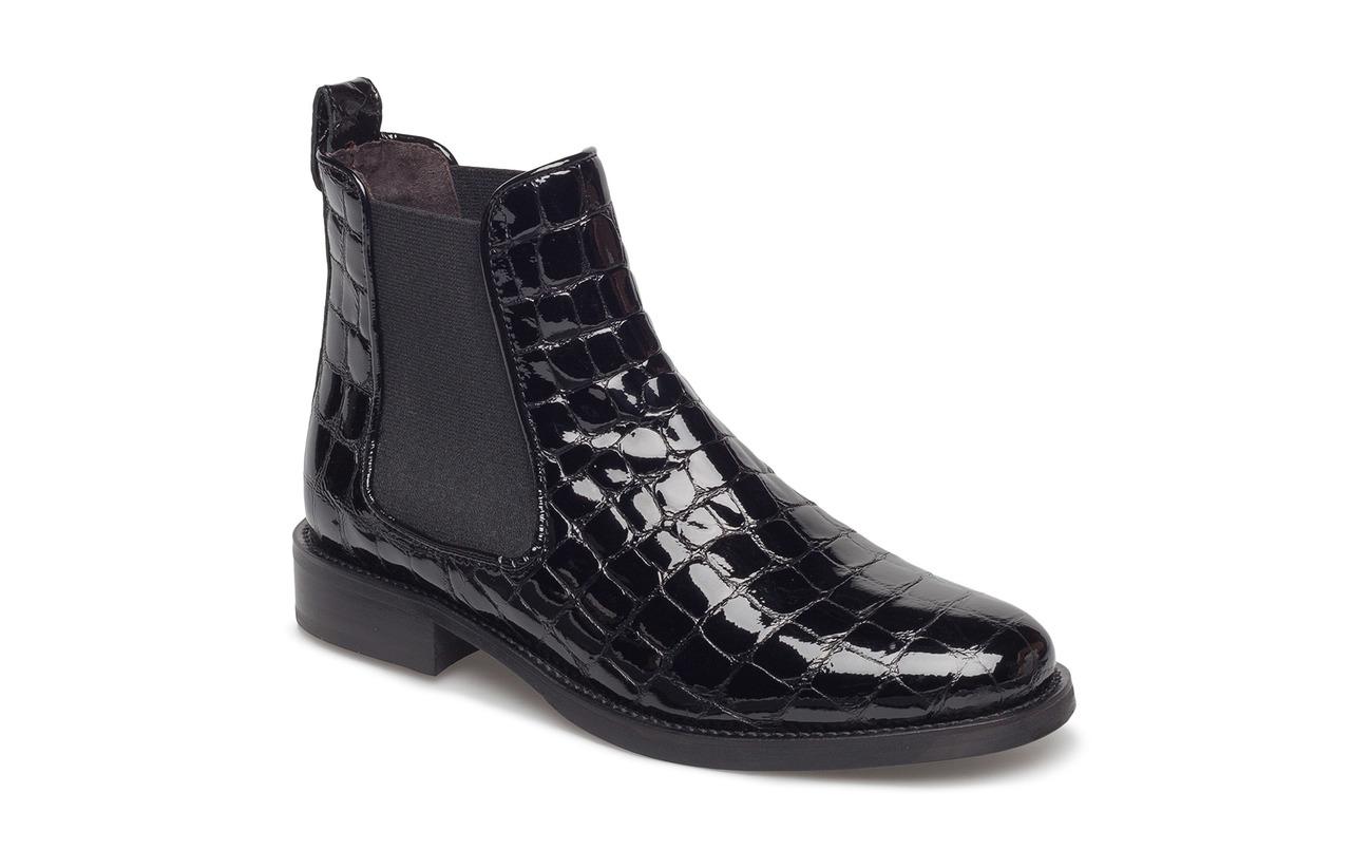 Billi Bi Boots 7913 - BLACK CROCO PATENT R